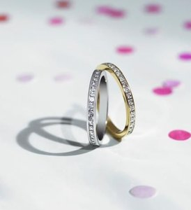 Links Of London Watch Over Me 18ct Gold Diamond Eternity Ring