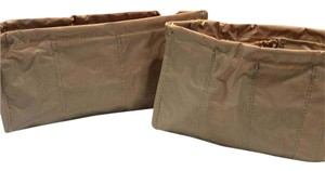 Satchel in Set of Two Purse Organizers