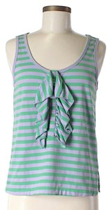 See by Chloé Striped Ruffle Top