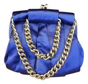 Christian Louboutin Blue Clutch