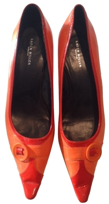 Item - Orange Pumps Size US 10 Regular (M, B)