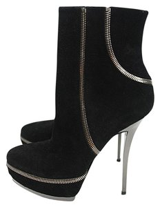 Gucci Ankle Suede Black Boots