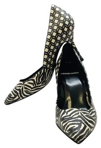 Pierre Hardy Black white Pumps