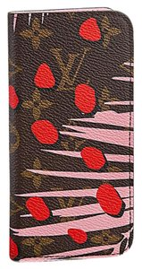 Louis Vuitton Louis Vuitton iPhone 6/6S Folio Pink Jungle Monogram Cover
