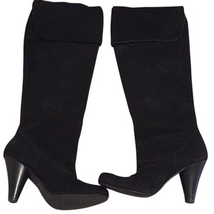 Restricted Black Boots