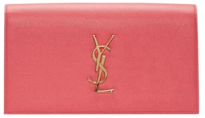 Saint Laurent Pink Clutch