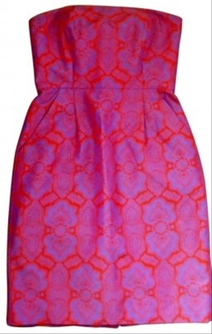 Preload https://item2.tradesy.com/images/jcrew-red-and-purple-above-knee-cocktail-dress-size-0-xs-156156-0-0.jpg?width=400&height=650