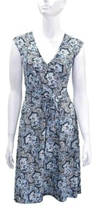 Ann Taylor LOFT Polyester Print Dress