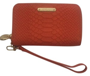 GiGi New York Wristlet in Orange
