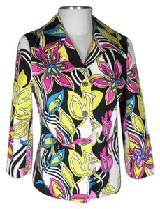 Karen Kane Stretch Stretchy multi color Blazer