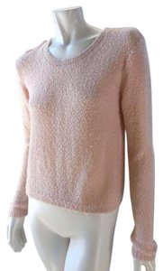 Nordstrom Brass Plum Relaxed Loose 7684 Sweater