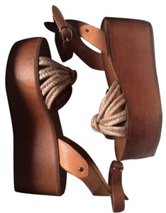 Isabel Marant Brown Wedges