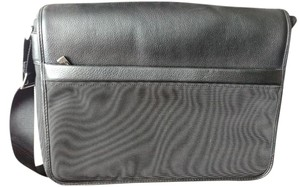Kenneth Cole Computer Reaction Black Messenger Bag