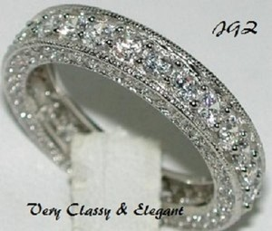 7.50 Vintage Style Anniversary - Eternity Band * Exclusive New Design *