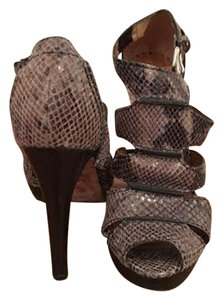 Michael Kors Snakeskin grey Sandals
