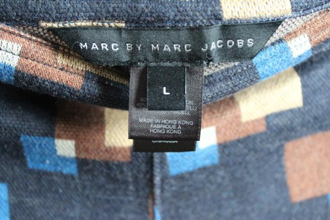 Marc by Marc Jacobs Patterned Geometric Mini/Short Shorts Navy Image 2