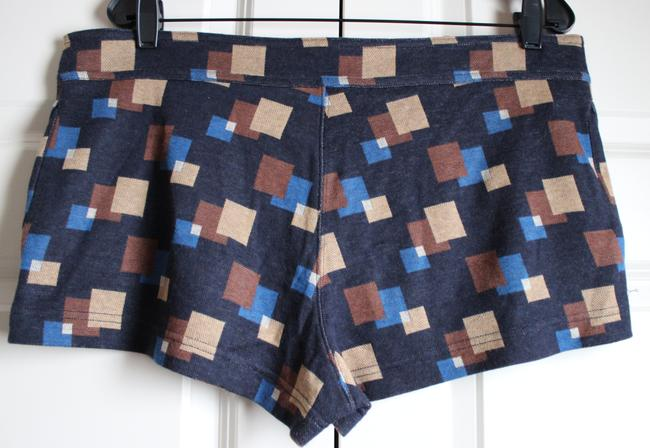 Marc by Marc Jacobs Patterned Geometric Mini/Short Shorts Navy Image 3