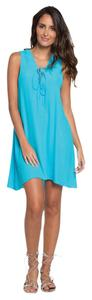 Elan short dress Tourquoise on Tradesy