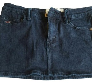 Hollister Jean Mini Skirt Dark