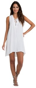 771a0b7c10e9 Elan White Long Sleeve Open Arm Romper Jumpsuit.  56.00  78.00. US 8 (M).  Elan short dress White on Tradesy