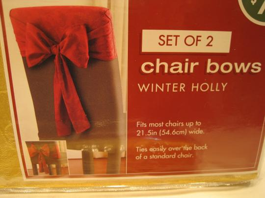 Other 4-Golden Damask Chair Bows by Bed Bath & Beyond - [ Roxanne Anjou Closet ]
