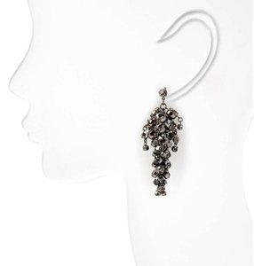 nOir Noir Cluster Drop Earrings