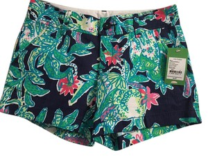 Lilly Pulitzer Shorts Bright Navy Trunk Show