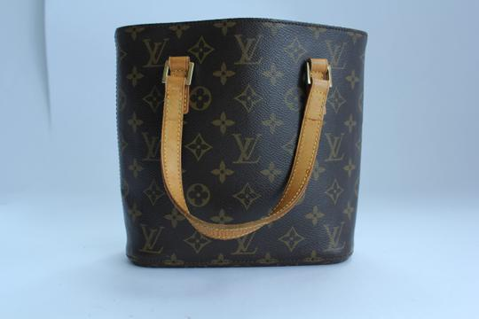 Louis Vuitton Vavin Monogram Canvas Pm Tote in Brown and Tan