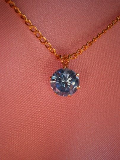 Preload https://item5.tradesy.com/images/blue-brilliant-simulated-diamond-necklace-156179-0-0.jpg?width=440&height=440