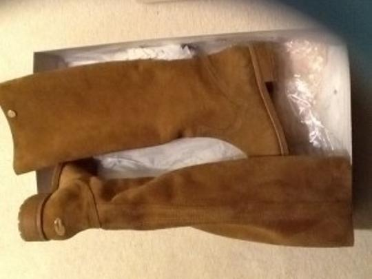 Jimmy Choo Amazing Suede Designer Suede Whiskey brown Boots