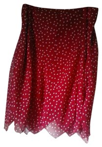 George Skirt Red