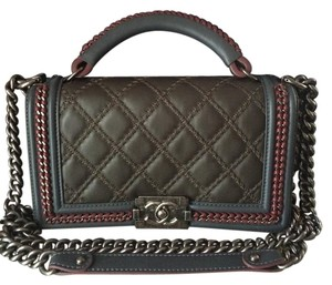 Chanel Boy Tricolor Limited Edition Top Shoulder Bag