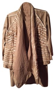 Rachel Roy Gold and white skirt suit