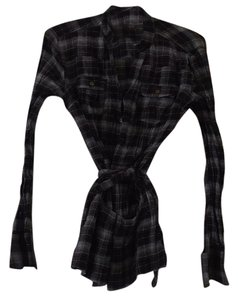Decree Top Plaid