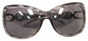 Jimmy Choo Jimmy Choo Gray and Black Luxury Summer Sunglasses