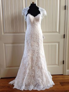 Essense Of Australia D1692 With Lace Jacket Wedding Dress