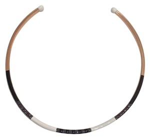 Tory Burch Rose Gold , Dipped Black White , Grey Choker