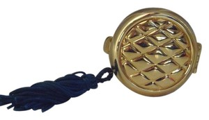 Tova Tova Solid Perfume Gold Quilted compact