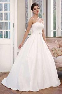 Mia Solano White M1335l Wedding Dress Size 10 (M)