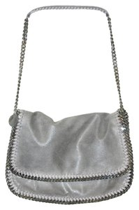 Stella McCartney Falabella Shaggy Deer Messenger Grey Messenger Bag