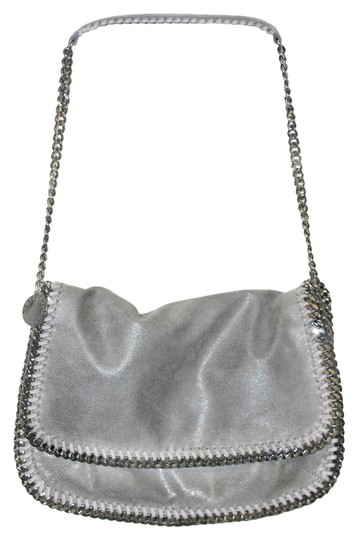 Stella McCartney Falabella Shaggy Deer Grey Messenger Bag