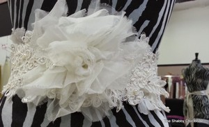 Sateen Ribbon Wedding Gown Sash