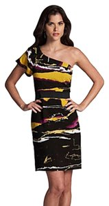 Gianni Bini Cocktail One Elastic Waist Summer Evening Dress