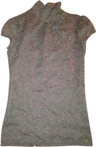Express Lace Top Dark Grey