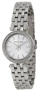 Michael Kors Michael Kors Silver Dial Stainless Steel Ladies Watch