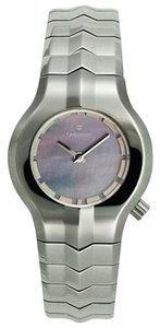TAG Heuer Tag Heuer Womens Stainless Alter Ego Pearl WP1312 Steel 100M Blue MOP