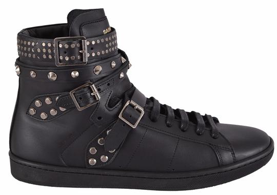 Saint Laurent Sneakers High Tops Studded Black Athletic Image 4