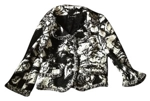 St. John Black and white multi Jacket