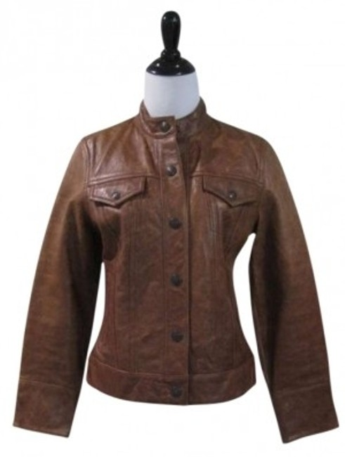 Preload https://item2.tradesy.com/images/gap-brown-leather-jacket-size-4-s-156221-0-0.jpg?width=400&height=650