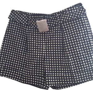 Tory Burch Dress Shorts Navy & White